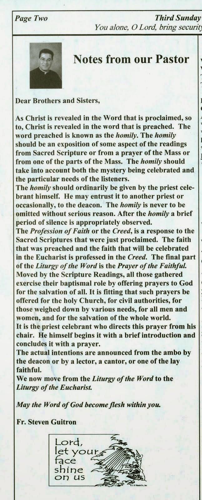 Guardian Angel Parish Pacoima Ca April 2009 Word Fr Steven Guitron